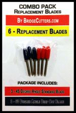 6-Pack Replacement Blades Combo